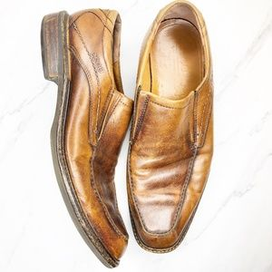 ECCO Soft Leather Loafers Shoes 43 44